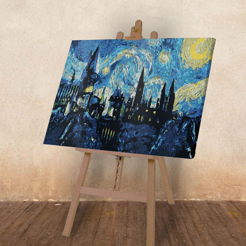 Картина по номерам Замок Ван Гог 40*60 см | Косой Переулок
